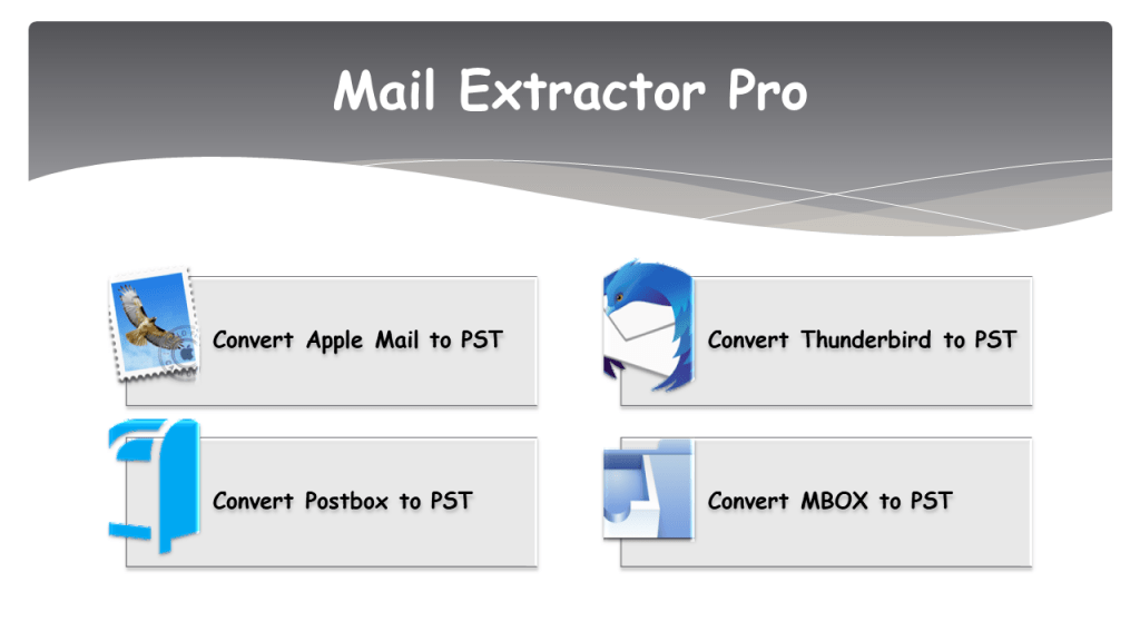 Transfer Mac Mail to PST Outlook